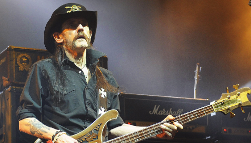 Le leader du groupeMotörhead, Lemmy, est mort