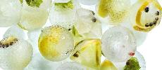 Des glaçons innovants pour les cocktails