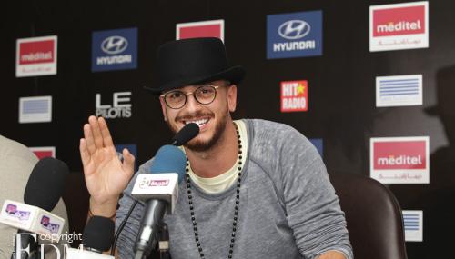 Saad Lamjarred rend hommage au public marocain