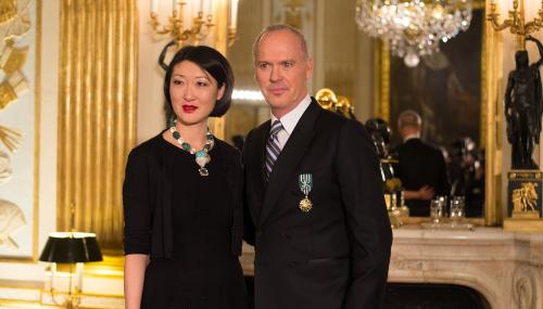 Michael Keaton est officier de l'ordre des Arts et des Lettres