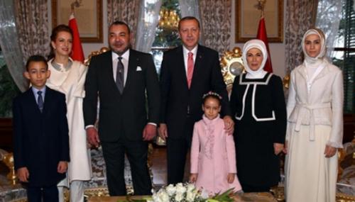 Mohammed VI invite Erdogan à une visite officielle au Maroc