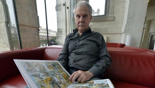 Le Grand prix d'Angoulême décerné au dessinateur belge Hermann