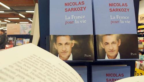 Nicolas Sarkozy a vendu 66.461 exemplaires de son livre en une semaine