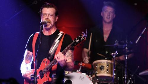 Trois mois après la tuerie du Bataclan, les Eagles of Death Metal font leur grand retour à Paris