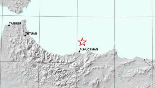 Secousse tellurique de magnitude 4,6 au large d'Al Hoceima et Nador