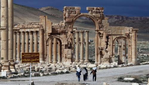 Les destructions de Palmyre documentées