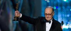 A 87 ans, Ennio Morricone reçoit enfin l'Oscar de la meilleure musique