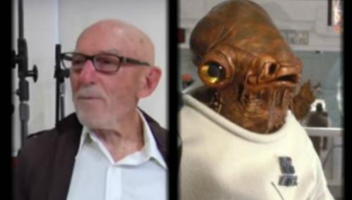 """L'Amiral Ackbar de """"Star Wars"""" est mort"""
