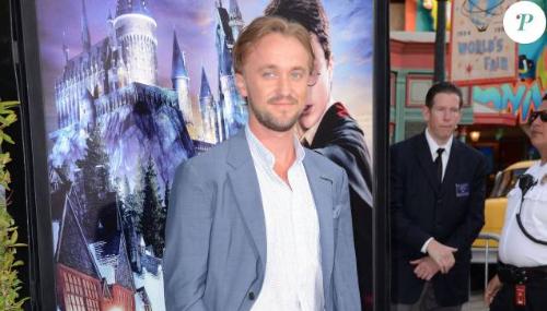 Tom Felton et ses copains d'Harry Potter inaugurent l'arrivée à Universal Studio