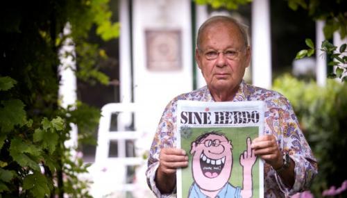 Le caricaturiste français Siné est mort à l'âge de 87 ans