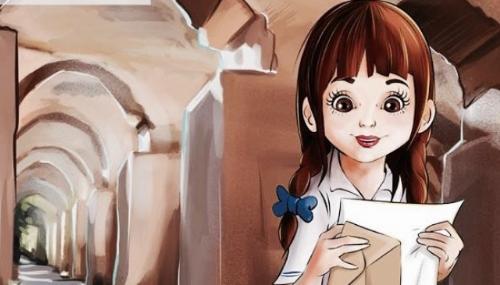 Aïcha devient un personnage de livre pour enfants