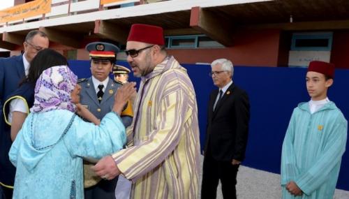 Le contenu des paniers distribués par Mohammed VI aux familles nécessiteuses