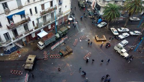 Casablanca transformée en terrain de guerre