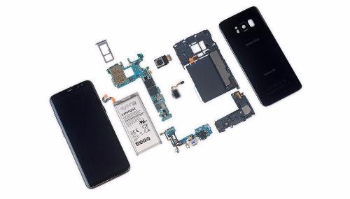 IFixit désosse le Samsung Galaxy S8 et découvre une mauvaise surprise