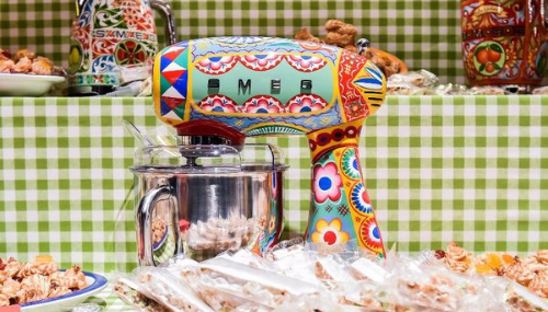 Dolce & Gabbana lance une collection... d'appareils de cuisine