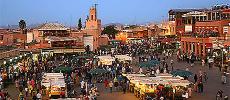 Paris Match sous le charme de la mythique Marrakech