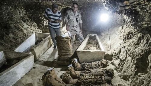 Egypte: De nouvelles momies découvertes dans le désert occidental