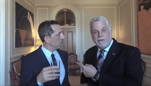 Gad Elmaleh, décoré par le premier ministre du Québec !