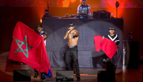 Mawazine: Booba assure le show à Rabat