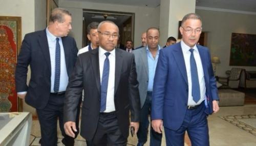 Fouzi Lekjaa et Ahmad Ahmad unis pour rebâtir la CAF