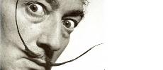 Salvador Dali : Décédé il y a 28 ans, mais conserve une moustache impeccable !