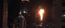 Un impressionnant incendie ravage la Torch Tower à Dubaï [Vidéo]
