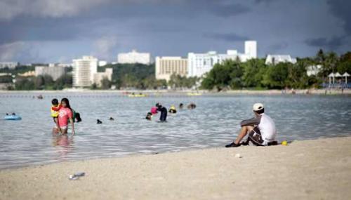 Guam, l'île américaine du Pacifique menacée par la Corée du Nord
