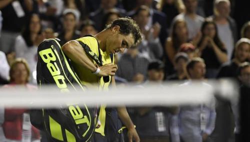 Rafael Nadal, battu en 8e de finale par Denis Shapovalov