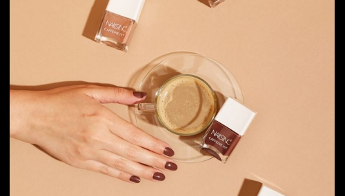 Gourmandise beauté : Nails inc lance des vernis infusés à la caféine