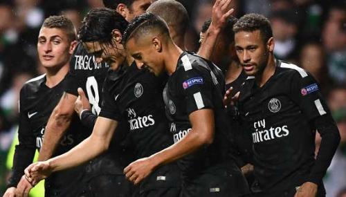 Ligue des champions: Le PSG fait parler la poudre