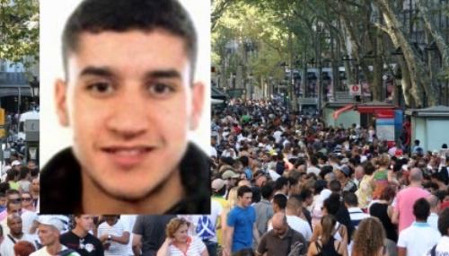 Voici comment l'auteur de l'attentat de Barcelone a quitté Las Ramblas [Vidéo]