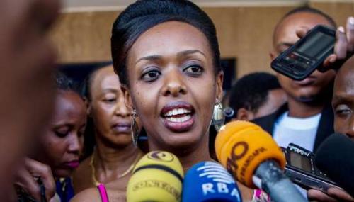 Au Rwanda, l'opposante Diane Rwigara inculpée d'«incitation à l'insurrection»