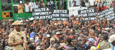 En Guinée, une manifestation pour dénoncer la répression du régime d'Alpha Condé