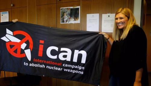 Le prix Nobel de la paix revient à la Coalition internationale pour l'abolition des armes nucléaires