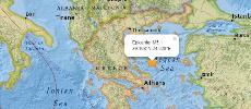 Un séisme de magnitude 5,1 détecté au large de la Grèce