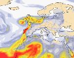 Pourquoi le ciel se teinte d'orange en Bretagne