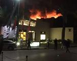 Vidéo. Marrakech: Incendie gigantesque au restaurant Jad Mahal