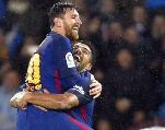 Foot européen: le Barça solide leader, City chute