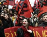Manifestations en France : plus de 45000 personnes à Paris pour la première journée de mobilisation