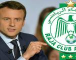 Ce qu'a dit Emmanuel Macron à propos du Raja Casablanca