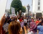 Un sit-in pour condamner le meurtre odieux de Hanane