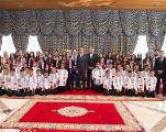 Le prince Moulay El Hassan reçoit les enfants d'Al-Qods