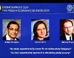 Le Nobel d'économie à un trio de chercheurs pour leurs travaux sur la pauvreté