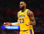 Basket - NBA - LeBron James blessé