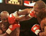 Boxe: Mike Tyson prépare son combat contre Evander Holyfield
