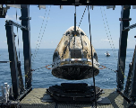 SpaceX ramène sur Terre deux astronautes en provenance de l'ISS