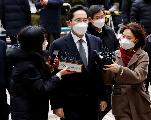 L'héritier de Samsung condamné à 2 ans et demi de prison pour corruption
