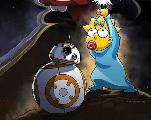 Comment Maggie est devenue la star du premier crossover entre Star Wars et Les Simpson