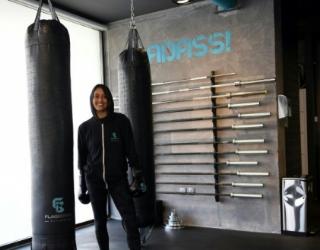 Halah Alhamrani, 41 ans, Saoudienne...et boxeuse