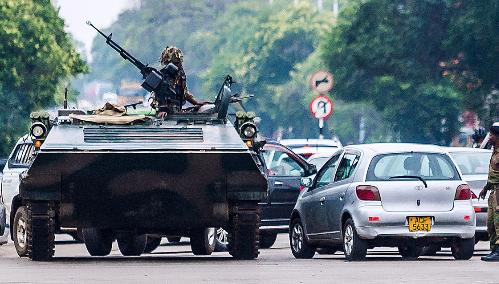 La confusion au Zimbabwe : Coup d'Etat ou pas ?